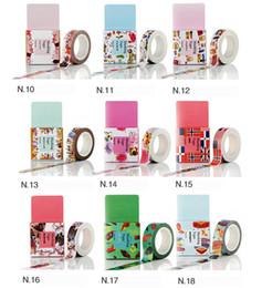 2019 tessuto di pizzo adesivo 62 Styles Washi Tape - Tutte le ragazze preferite, grande per arti e mestieri, fai da te, album - decorativo, creativo, multiuso, nastro adesivo 2016