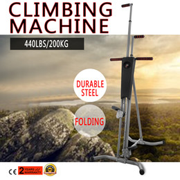 Wholesale Exercises Machines - Home Gym Exercise Climber Machine Stepper Cardio Climbing System Fitness Workout