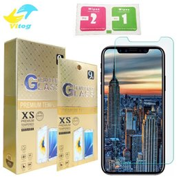 Wholesale Screen Explosion Iphone - 2.5D Tempered Glass For iphone 6S 7 7plus iphone 8 X plus Screen Protector 0.26mm Explosion Proof Film iphone 5S Galaxy S6 S5 Note 5