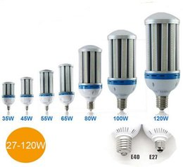 Wholesale Led E26 Corn - High lumen LED Corn Light Bulb 27W 36W 45W 54W 80W 100W 120W E26 E27 E39 E40 Garden Warehouse parking lighting AC 85-265v