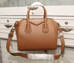 Wholesale Brand S Handbags - New brand Hot sale high quality women's leather block decoration bag handbag hobos tote Cross Body Totes Free shipping 8 color size S M L