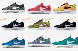 Wholesale High Cut Black Tennis Shoes - 2017 Lunarepic 8 Low Cut Free Run Running Shoes Women And Mens High Quality Lunar Epic Free Runs Sports Trainers Shoes Size 36-44