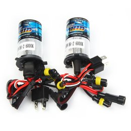 Wholesale H4 Color - Headlight HID Xenon Lamp 6000K H4 Warm White Light Good Color Temperature Improve the Performance Suitable for Motorbikes Cars