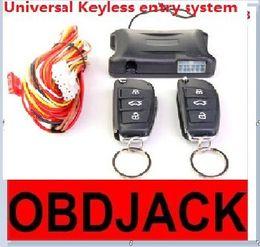 Wholesale Window Locks Alarms - Newest Universal Keyless entry system CF904-098 Car Remote Central Lock Car window closer Car alarm system