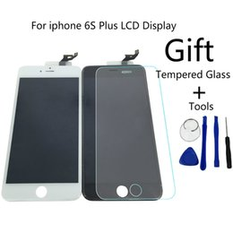 Wholesale Iphone Parts Tools - Grade AAA Tianma LCD For iPhone 6 6S 4.7 5.5 plus Display Touch Screen With Digitizer Replacement Assembly Parts Film + Tools