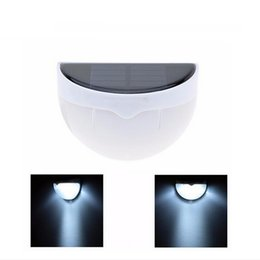 Wholesale Solar Voice - 6LED Wall mounted Solar Lamp PIR Sensor Led Light with Light&Voice Control Outdoor Water-proof Garden Yard Stair sensor light