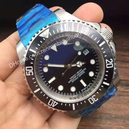 Wholesale Dweller Ceramic Black - Top Luxury Watches SEA-DWELLER DEEP Ceramic Bezel Stanless Steel Clasp 116660 Automatic AAA Quality Business Casual mens Watch Also sell box