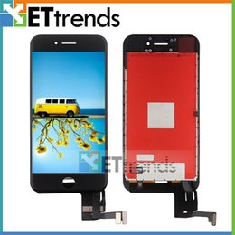 Wholesale Pixel Inches - For iPhone 7 LCD & Digitizer Complete Assembly 4.7 Inch Black White Grade AAA No Dead Pixel Test One by One AA0444 DHL Free Shipping