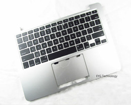 Wholesale Topcase Macbook - A1502 Topcase with Keyboard US layout for Macbook Pro 13'' Retina A1502 Upper topcase Late 2013 Mid 2014 Year