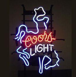 Shop coors light neon beer signs uk coors light neon beer signs 17x14coors light glass neon light sign display beer bar pub store club shop aloadofball Choice Image