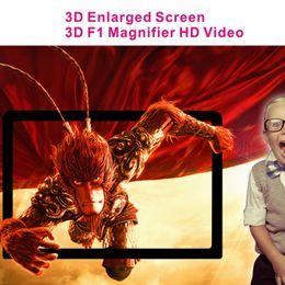 2019 telefone verstärker 3D Video Display Folding Vergrößerte Expander F1 Universal Handy Bildschirmvergrößerer Verstärker Lupe Augenschutz Halter Mit Paket rabatt telefone verstärker