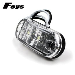 Wholesale 12v Led Caravan - 4PCS LED Auto Car Truck Trailer Caravan Side Marker Light 2LEDS waterproof IP65 Clearance Lamp 12V 24V 100% Brand New Piranha side lights