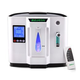 Wholesale Portable O2 Concentrator - 6L Portable Oxygen Concentrator Air Purifier, Home Oxygen Bar Machine O2 Generator Air Purifier Free shipping