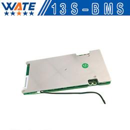 Wholesale Li Ion Bms - Wholesale- 2PCS lot48V 40A BMS 13S 48V(54.6V) li-ion battery BMS PCM 40A continuous 100A peak discharge With balance function Free shipping