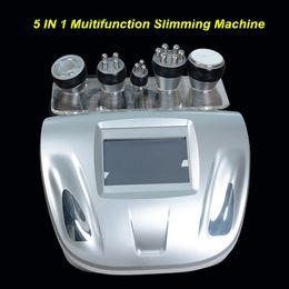 Wholesale Tripolar Skin - Portable 5IN1 Ultrasound cavitation vacuum slimming machine rf ultrasonic skin care body slim equipmnent tripolar RF face lifting