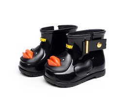 Wholesale Girls Shoes Kid S - Children 's Rain Boots Boys Girls Girls Children Rain Boots Kids Kids Water Shoes Non - slip Fall Winter Shoes Ducks