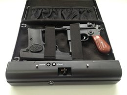 Wholesale Gun Safes Fingerprint - Wholesale- Biometric handgun safe,fingerprint pistol safe,Jewelry safe,gun vault OS500-SDT