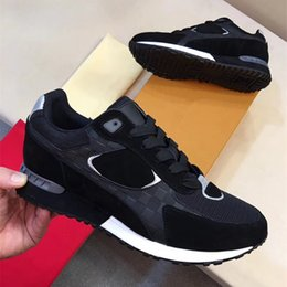 Wholesale Free Delivery Shoes - 2017 new luxury brand men's senior leisure sports men's shoes size 38-45 free delivery
