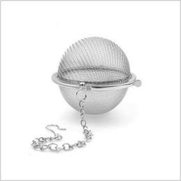 vasi di buona qualità Sconti Sfera infusore sfera infusore tè infusore sfera tè colino sfera 4.5 centimetri di buona qualità