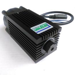 Wholesale Laser Blue Ttl - High Power Focusable 2500mW 2.5W 445nm 450nm Blue Laser Module with TTL DC12V CNC Laser Module