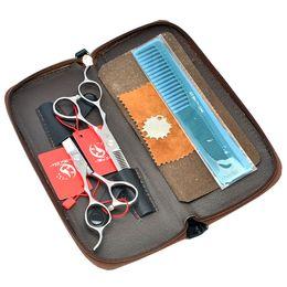 Wholesale left hand scissors japan - 5.5Inch 6.0Inch Meisha JP440C Silver Left-Handed Hair Cutting & Thinning Salon Shears Left Hand Hairdressing Scissors Set Tesouras, HA0140
