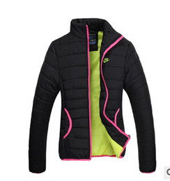 Wholesale New Models Coat - Wholesale-Free shipping! The new female models thick winter warm cotton padded jacket women's sport coat jacket M-XXL