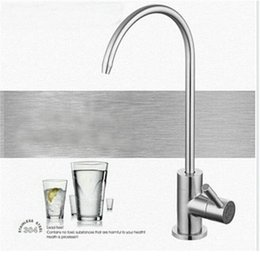 Wholesale Faucet System - Wholesale- Lead-free Drinking Water Filter System Faucet SUS304 Stainless Steel Kitchen Drinking Water Filter Tap Faucet, wy52