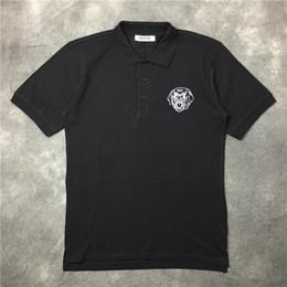 Wholesale Rottweiler Tee Shirts - 2017 new casual tshirt fashion t shirt men high quality t-shirt short sleeved Chest dog rottweiler printed printing Tops & Tees
