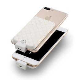 Wholesale External Battery Back Case - 3600mah Wireless Mini Back Case External Battery Charger Power Bank for Iphone 7 7 Plus 6S 6S Plus 6 6 Plus