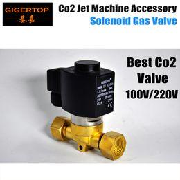Бесплатная доставка CO2 машина электрический клапан американский DJ CO2 клапан запасная часть Led Сценический свет Co2 машина Jet Сценический свет 100 в / 220 В от