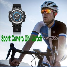 Wholesale Video Camera Bicycle - 2017 Sport Camera Wifi watch Fox8 P2P WiFi IP Camera Pocket Mini DVR Built 8G 16G 32G Car Bicycle Video Recorder Smartwatch ann