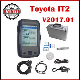 Wholesale Toyota Intelligent Tester Ii It2 - Good feedback 2017.01 toyota it2 TOYOTA denso Intelligent Tester2 ii,toyota IT2,Toyota Tester-2 support toyota suzuki car diagnostic scanner