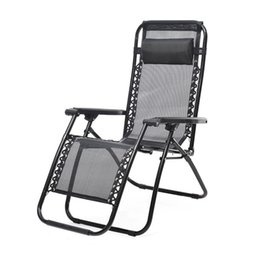 Wholesale Fold Lounge Chair - Wholesale- Outdoor Zero Gravity Lounge Chair Beach Patio Pool Yard Folding Recliner Wonderful35%2.03