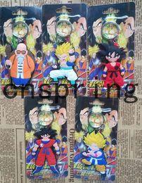Wholesale Dragon Ball Bag - New 20 pcs Cartoon Dragon Ball PVC Keychain Bag Pendant Children Gifts Y--1