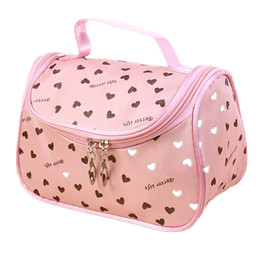 Wholesale Toiletry Gifts - Wholesale- 2017 New Zipper Cosmetic Bag Lady Travel Organizer Accessory Toiletry Cosmetic Make Up Holder Case Bag Pouch Gift Free S386