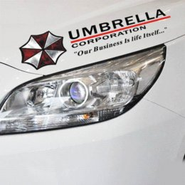 Wholesale Umbrella Sticker - Cool Resident Evil The Umbrella Chronicles Car sticker covers on car lights brow decal universal car styling stickers