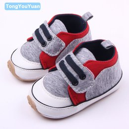 Wholesale Baby Step Shoes - Wholesale- Hot Selling Hard Rubber Sole Anti-slip Prewalker Baby Boy First Step Toddler Shoes For 0-15 Months