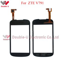Wholesale Replacement Touch Screen Panel Zte - 5pcs lot Wholesale Original Quality For ZTE Blade V791 Touch Screen and Touch Panel Glass Digitizer Replacement with Free Shipping