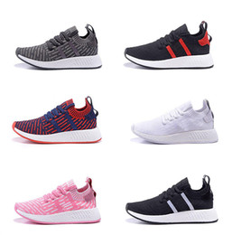 Wholesale Perfect Band - 2018 Hot NMD R1 Primeknit Perfect Authentic Running Sneakers Fashion Running Shoes NMD R2 Runner Primeknit Sneakers Boost Size US 5-11