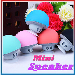 Wholesale Bluetooth Mushroom - Wireless Mini Bluetooth Speaker Portable Mushroom Stereo Bluetooth Speaker For Android IOS PC for s7 edge