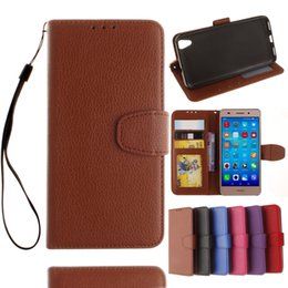 Wholesale Huawei Ascend Honor Cases - FOR HUAWEI Ascend Y3 Y5 II Y6 II honor 5A honor 4A Y6 Y530 Y550 Y560 Lechee Photo Frame Credit card Wallet Stand leather case cover 1PC LOT