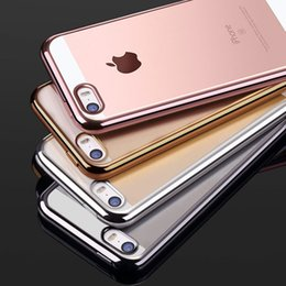 Wholesale I5 Silicone Cases - For iPhone 5 5S SE Clear TPU Silicone Case Phone Coque Fashion Transparent Ultra-thin Soft Back Cover cases For i5 5SE