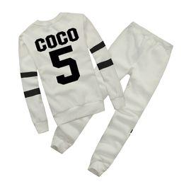 Wholesale Pink Tracksuits - Hot Europe brand Autumn Winter Fashion Women Sweater Jogger Sport Tracksuit Fleece Sweatshirt Hoodies Blouse Plus Pants Suit