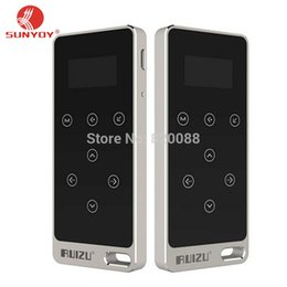 Wholesale Free Card Readings - Wholesale- New Ultrathin 8gb MP3 Player With 1.1 Inch Screen Touch button, Original RUIZU X05 With FM,E-Book, Free Shipping