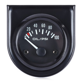 Wholesale Easy Sensor - B742 Digital Mechanical Oil Pressure Gauge with Sensor for Car High Accuracy And Easy Operation Black Shell And White Light