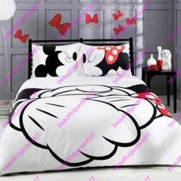 Wholesale Duvet 3d - White Comforter set Bedding Duvet Cover with Pillowcase Microfiber Brushed 3pcs set Twin Full Queen King sizes 2017