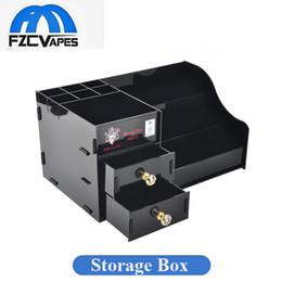 Wholesale E Cigarette Storage - Authentic Demon Killer Storage Box for E Cigarette Collector Vape Lovers Showcase Ecig Buyer DHL EMS Free