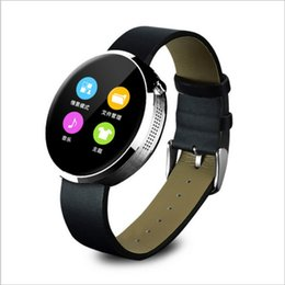Wholesale New Wrist Mobile Phone - 2017 New Bluetooth Smartwatches DM360 Smart watch for IOS and Andriod Mobile Phone with Heart rate monitor bluetooth Wristwatch Clock