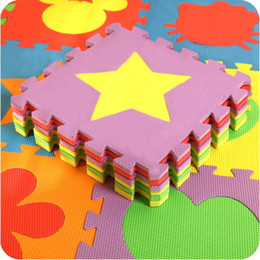 Wholesale Eva Foam Play Floor Mat - EVA Foam Baby Puzzle Mat For Children Kids Rug Puzzle Soft Floor Room Puzzle Carpet For Kids Foam Eva Mat Cartoon Baby Play Mat