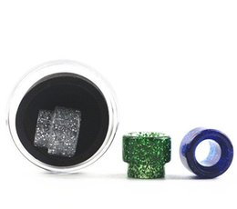 Wholesale General Bear - For Kennedy 24 general resin drip tips 810 528 Wide Bore drip tips with free shipping